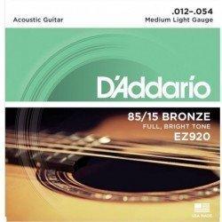 D'addario EZ920 Acus 012-54
